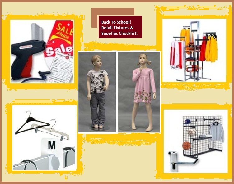 Retail Store Supplies for Back To School
