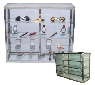 Counter Top Glass Cases