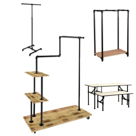 Pipeline Retail Closing Fixtures come in a variety of styles