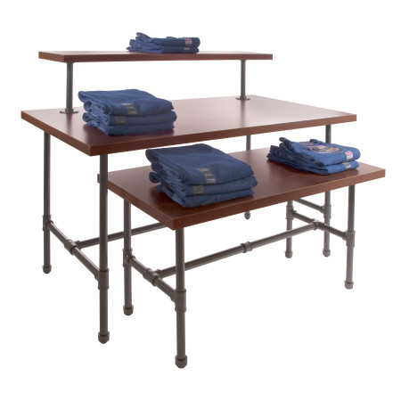 Grey Pipeline Nesting Table